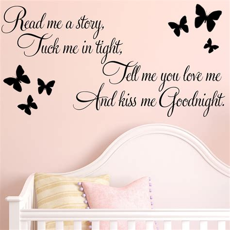 stickers pour chambre adulte read me a baby nursery childrens wall sticker decals