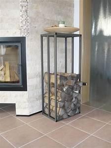 Holzlagerung Im Haus : kaminholzregal stab easy 250x250 farbe ral 9007 ~ Markanthonyermac.com Haus und Dekorationen