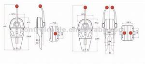 Gj1107a Marine Engine    Transmission Single Controls