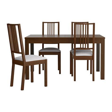 bjursta b 214 rje table et 4 chaises ikea