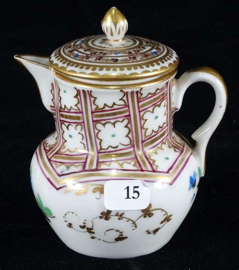 petit pot 224 lait en porcelaine 224 d 233 cor peint de fleurs xix 232 vente aux ench 232 res objets d