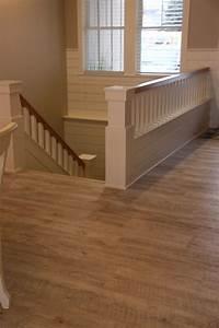 How to install luxury vinyl plank flooring on stairs for How to install vinyl plank flooring on stairs