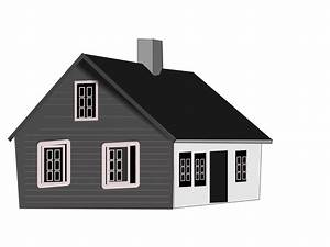 PNG House Black And White Transparent House Black And ...