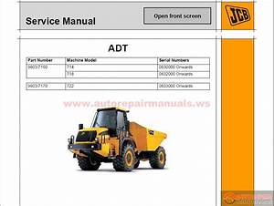 Jcb Compact Serv Manuals Kg S3 Issue50