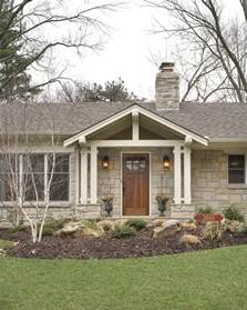 ranch home plans with front porch fairway ranch renovation entry traditional entry
