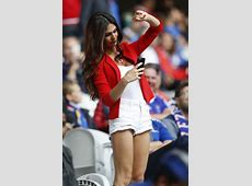 La joven modelo albanesa es pareja del futbolista