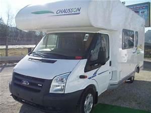 Camping Car Ford Transit Occasion : camping car chausson flash s3 capucine porteur ford transit ann e mod le 2008 kilom trage ~ Medecine-chirurgie-esthetiques.com Avis de Voitures