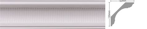 cornices centre pc 610 large fluted cornices centre 174
