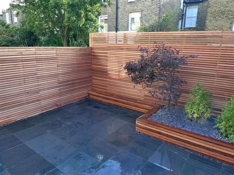 Backyard Wood Fence Ideas - garden design small backyard ideas with wooden fence