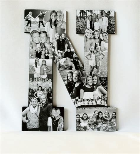 letter picture collage custom photo letter collage any letter of the alphabet photo 91240