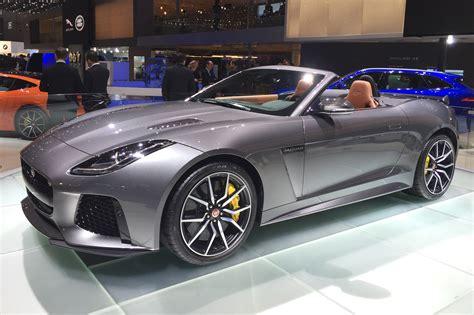 jaguar  type svr confirmed   geneva motor show