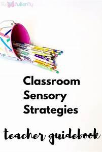 Classroom Sensory Strategies  Editable Guidebook For