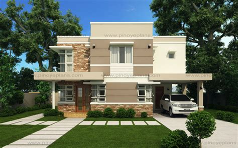 modern home plans with photos modern house design series mhd 2012006 eplans