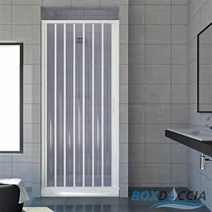 cabine paroi porte de douche niche pliante plastique pvc With porte accordeon pour douche