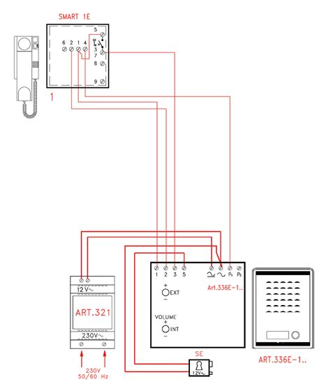 videx smk1s 1 way access audio kit