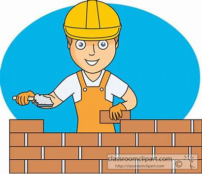 Brick Clipart Wall Building Masonry Construction Mason