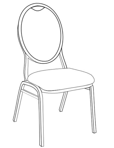 Coloriage Chaise à Imprimer Gratuitement