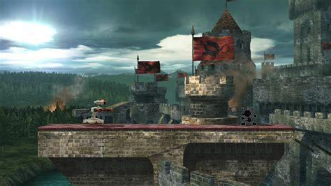 siege fortress stage emblem castle siege wii u smash