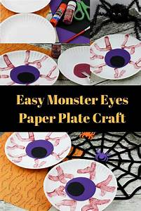easy eyeball paper plate craft mad science