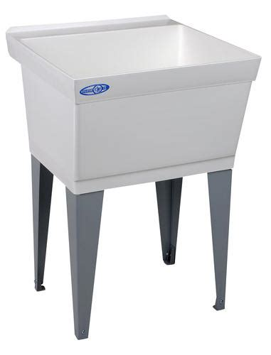 Menards Mustee Utility Sink by Mustee Utilatub 23 1 2 In X 23 In X 33 In Structural