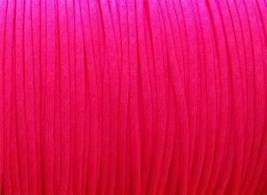 Neon Pink Bright Color Paracord Solid Neon Color 7
