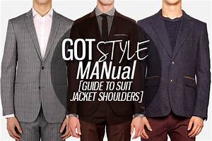 Gotstyle Manual  Guide To Suit Jacket Shoulders