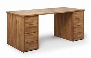 Schreibtisch Nach Maß : nagano aus kirschbaum schreibtisch nach ma ~ Frokenaadalensverden.com Haus und Dekorationen