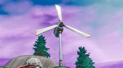 fortnite wind turbine locations explained eurogamernet