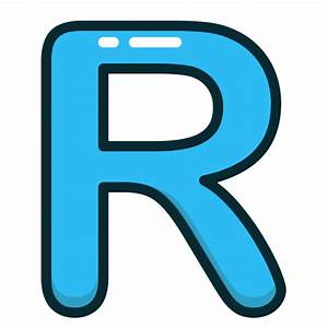 Alphabet, blue, letter, letters, r icon | Icon search engine
