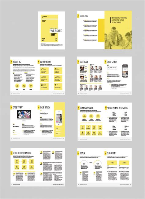 website project proposal stockindesign