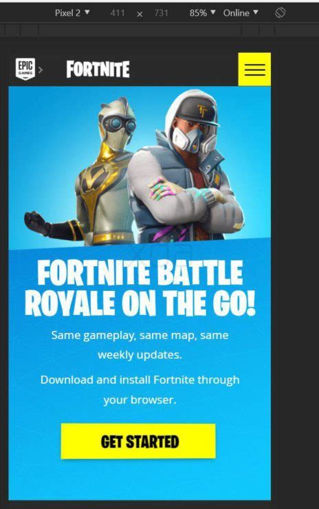 google play warns users  fortnite isnt