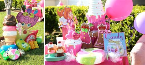 karas party ideas candy land game sweets boy girl