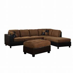 Dallin sectional sofa modern style and convenience from sears for Sectional sofas from sears