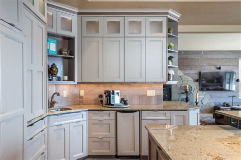pictures painted kitchen cabinets bellmont cabinet co transitional kitchen seattle 4221