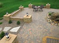 good looking paver stone patio design ideas 20+ Best Stone Patio Ideas for Your Backyard - Home and Gardens