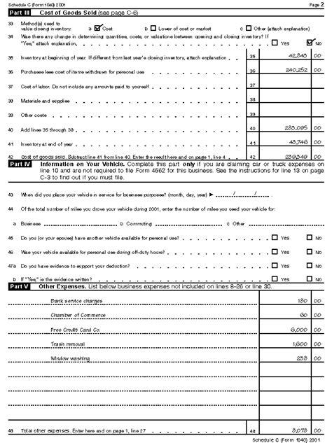 form c ez form 1040 schedule c ez instructions nzstdsk