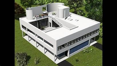 Corbusier Savoye Villa Architecture Roof Building International