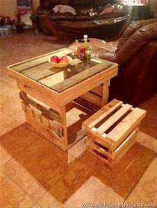 14 Table With Pallets, Rustic Pallet End Tables 99 Pallets