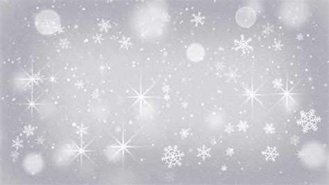 Gray Snowflake Background by Falling Snow Flakes Animated Winter Background Loop Stock