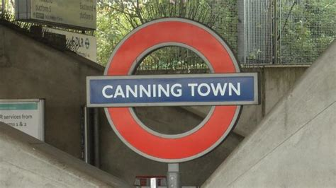 canning town underground station tube station
