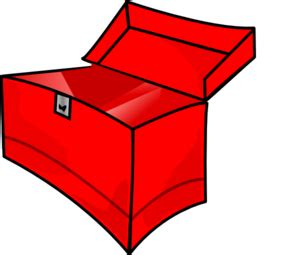Red Toolbox Empty Clip Art At Clkercom  Vector Clip Art Online, Royalty Free & Public Domain