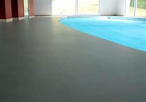 beton cire exterieur terrasse piscine bassin With terrasse exterieur beton cire