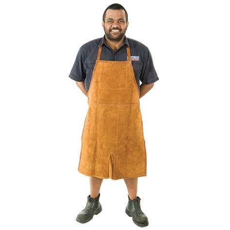 deluxe leather shop apron aprons jackets gloves