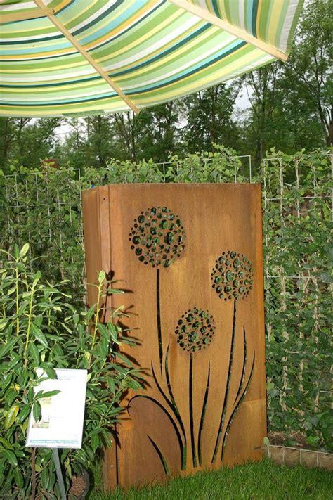 Sichtschutz Garten Aus Cortenstahl by Sichtschutz Aus Cortenstahl Sichtschutzelement F 252 R Den