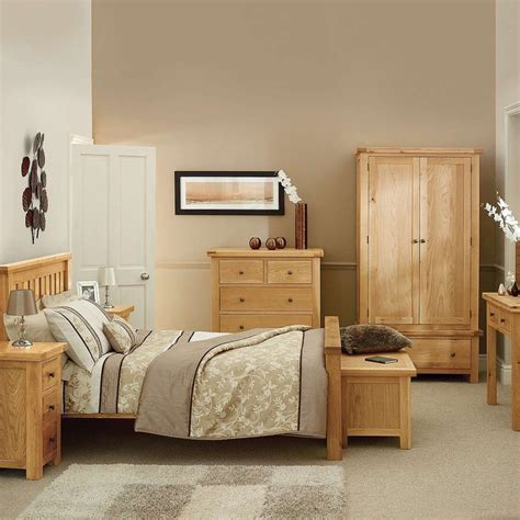 Popular Interior Light Colored Bedroom Furniture With