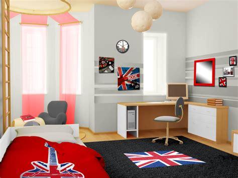 chambre londre style déco chambre