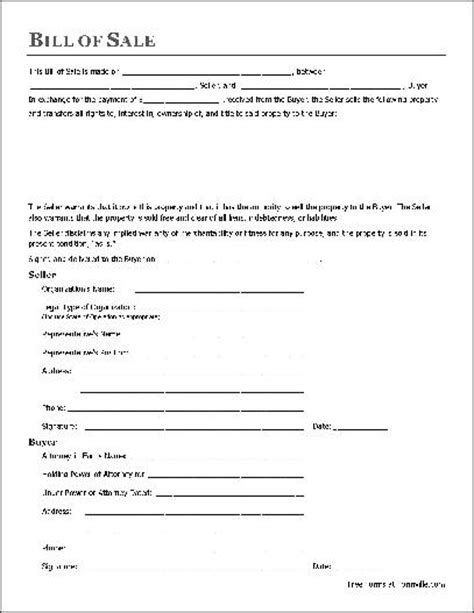 where do i get a bill of sale form free general bill of sale organization to attorney in