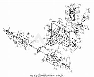 Mtd 316e740f352  1652670   1996  Parts Diagram For Blower