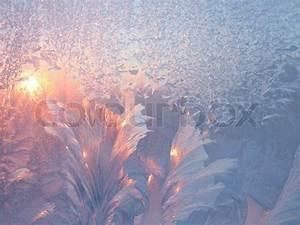 Sonne Im Winter : frost und sonne im winter glas nat rliche textur ~ Lizthompson.info Haus und Dekorationen