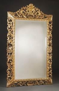 Miroir De Rue : miroir bois italien xix me antiquaire christophe ~ Melissatoandfro.com Idées de Décoration